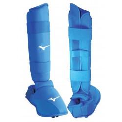 Protection Jambes Karaté Bleu